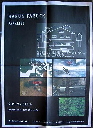 Parallel (exhibition announcement/poster for Harun Farocki): FAROCKI, Harun