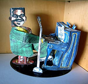 Fats Domino (a multiple/sculpture by Red Grooms: GROOMS, Red