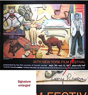 New York Film Festival -35th: CURTAIN CALL: RIVERS, Larry