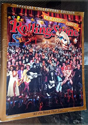 2006 - ROLLING STONES MAGAZINE - OUR 1000th ISSUE - COLLECTOR'S EDITION: ROLLING STONES 1000 ...