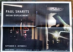 Dream Displacement (exhibition announcement/poster : image by Paul Sharits): SHARITS, Paul