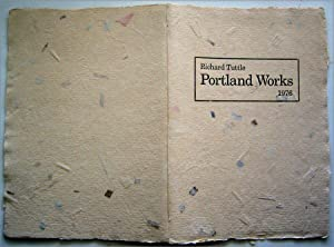 Portland Works. 1976. Richard Tuttle (with an: TUTTLE, Richard