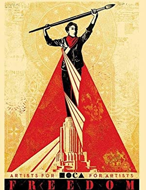 Freedom (SIGNED Limited Ed. screen print by Shepard Fairey)
