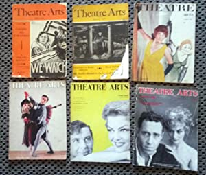 Theatre Arts Magazine: 6 issues April 1942, JANUARY 1946, March 1952, September 1956, June 1958 &...