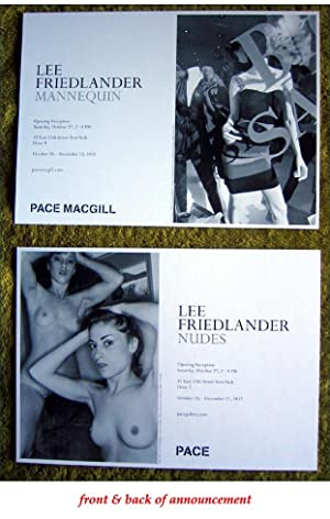 Exhibition Announcement for Lee Friedlander Exhibition 2012): FRIEDLANDER, Lee