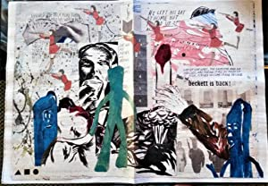Raymond Pettibon & Marcel Dzama: No 59: Agnes B. Point d?Ironie (colored illustrations: a Periodi...