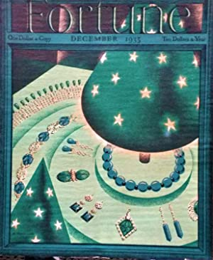 FORTUNE MAGAZINE, March 1935: front cover by Antonio Petruccelli, other Artists: Joe Jones, Rapha...