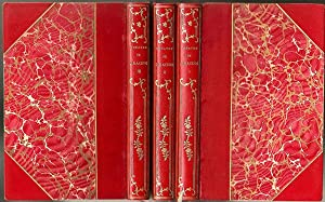 Theatre De Jean Racine ( 3 Volumes. 3/4 Leather binding)