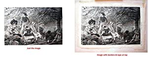 Spring Blossoms. (wood engraving by Winslow Homer): HOMER, Winslow / Harper's Weekly