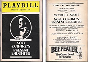Present Laughter (playbill): SCOTT, George C.