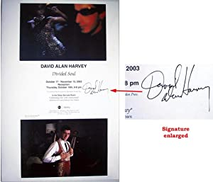 Divided Soul (SIGNED by David Alan Harvey: a poster)