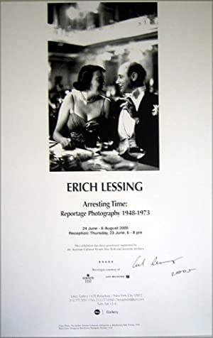 Arresting Time: Reportage Photography 1948-1973 (SIGNED by Erich Lessing: a poster)