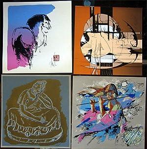 """Presencia de Arte Mexicano. """"Ayer, Hoy y: MEXICAN ARTISTS:Luis Palomares,"""