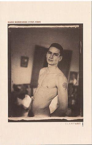 Self Portrait 1980/1996 (exhibition announcement for Mark: MORRISROE, Mark