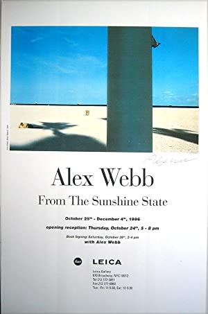 From the Sunshine State (SIGNED by Alex Webb: Photo/Offset Poster)