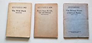 Little Blue Book No. 302, No. 436, No. 472 / Henrik Ibsen/ Julius Moritzen/ John W. Gunn.