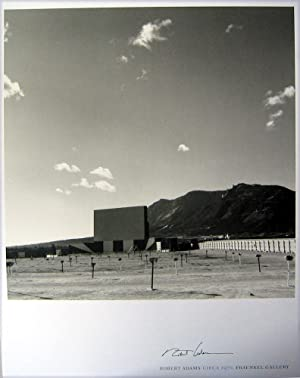 Circa 1970 (SIGNED by Robert Adams: exhibition poster)