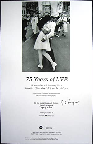75 Years of LIFE (SIGNED poster by John Leongard)