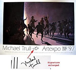 FUNK. Artexpo. New York City 1997 (SIGNED by Michael Trull: a colored offset poster): TRULL, ...