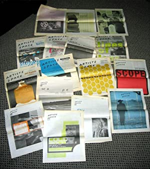 Artists Space (16 Newsletters 1996-2000)