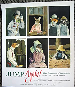 Jump again! (SIGNED poster by Barry Moser)