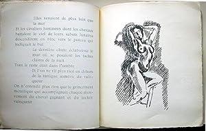 Les Jockeys Camoufles. Trois Poemes par Monsieur: MATISSE, Henri /