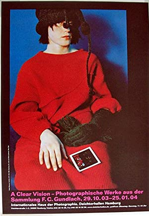 Untitled. MP #136, 1984 (SIGNED poster by Cindy Sherman)