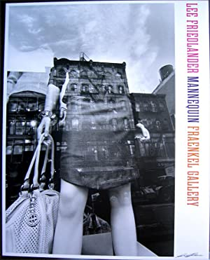 Mannequin (SIGNED by Lee Friedlander: exhibition poster)