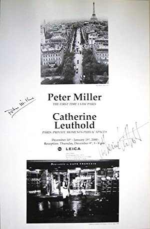 Paris (SIGNED by Peter & Catherine Leuthold: a poster)