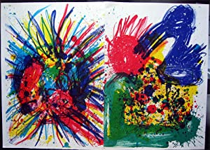 """Joan Mitchell & Walasse Ting: Original Limited. Ed. Lithographs from """"1 Cent Life"""" (..."""