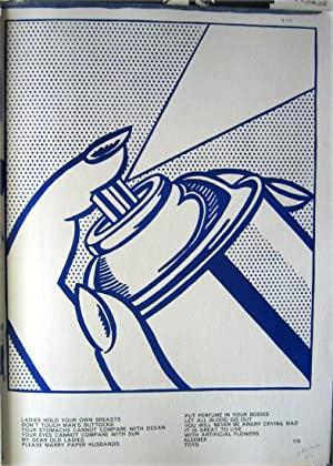 "Royc Lichtenstein: ""spray can"": 3 original Limited.: LICHTENSTEIN, Roy /"
