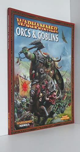 Orcs And Goblins Warhammer Armies Supplement