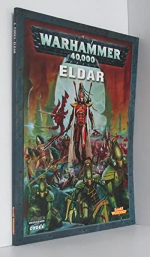 Eldar Codex Warhammer 40,000 40K