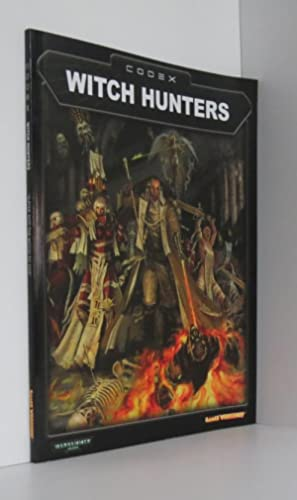 Witch Hunters Codex Warhammer 40,000 40K