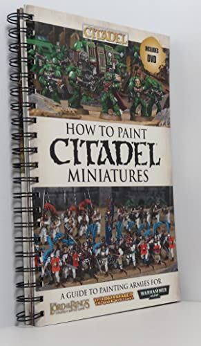 How to Paint Citadel Miniatures (DVD present)