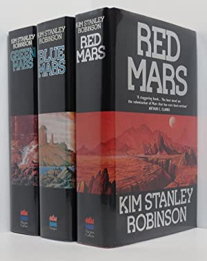 Red Mars, Green Mars, Blue Mars (3 vols 1st/1st all signed)