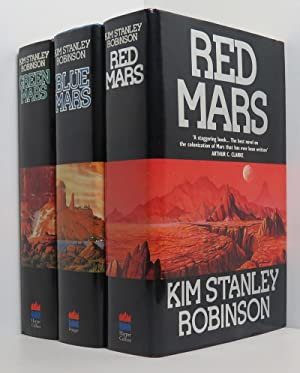 Red Mars, Green Mars, Blue Mars (3 vols 1st/1st Red Mars signed)