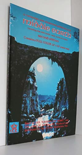 Campaign And Adventure Guidebook For Middle Earth 2Nd Edition Merpg Mrpg Ice 2200