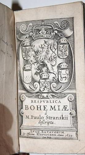 Respublica Bohemiae. Lugd. Bat., Ex. Officina Elzeviriana,: STRANSKY, PAVEL: