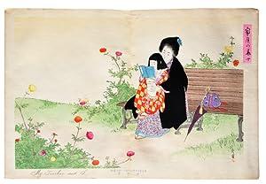 Katei no Hana (Flowers at Home). Tokyo,: MIZUNO HIDEKATA: