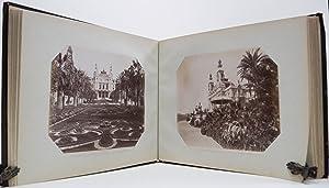 Album with 95 fotoprints of which 78: ALBUMEN PRINTS, PAPIER