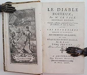 Le diable boiteux, nouvelle édition; corrigée, refondue,: SAGE, A.R. LE