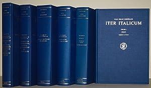 Iter Italicum + Iter Italicum accedunt Alia: KRISTELLER, P., (ed.)