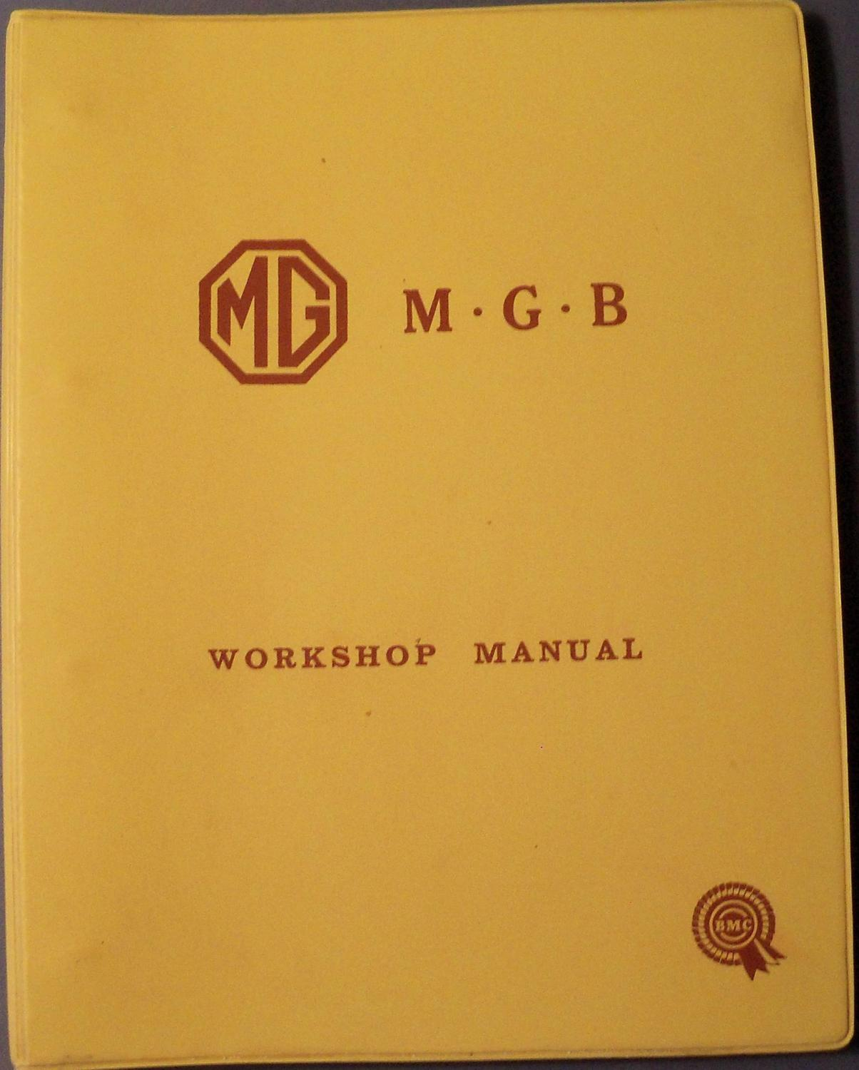 the mg mgb workshop manual part akd 3259c b m c service limited rh abebooks com I&T Shop Manuals Tractor Shop Manuals