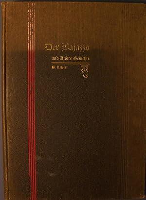 DER BAJAZZO UND ANDRE GEDICHTE: LEWIS, B.