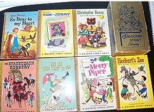 NEW GOLDEN STORY LIBRARY SEVEN VOLUME SET: Gruenberg, Loveman, Mearns, Reed, Studebaker, Witty