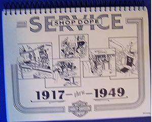 SERVICE SHOP DOPE 1917-1949: HARLEY-DAVIDSON