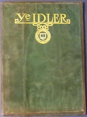 YE IDLER 1924: IDLER BOARD OF 1924- EDITOR EUGENIE SHREVE