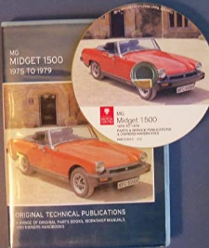 MG MIDGET 1500 1975-1979 - ORIGINAL TECHINICAL PUBLICATIONS: BRITISH LEYLAND MOTORS