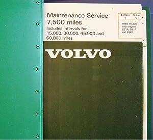 VOLVO MAINTENANCE AND REPAIR MANUALS 1980: VOLVO